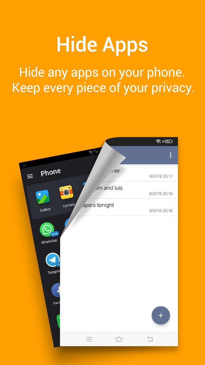 Notepad Vault-AppHider 2.4.1_94080a11 Screenshot 3
