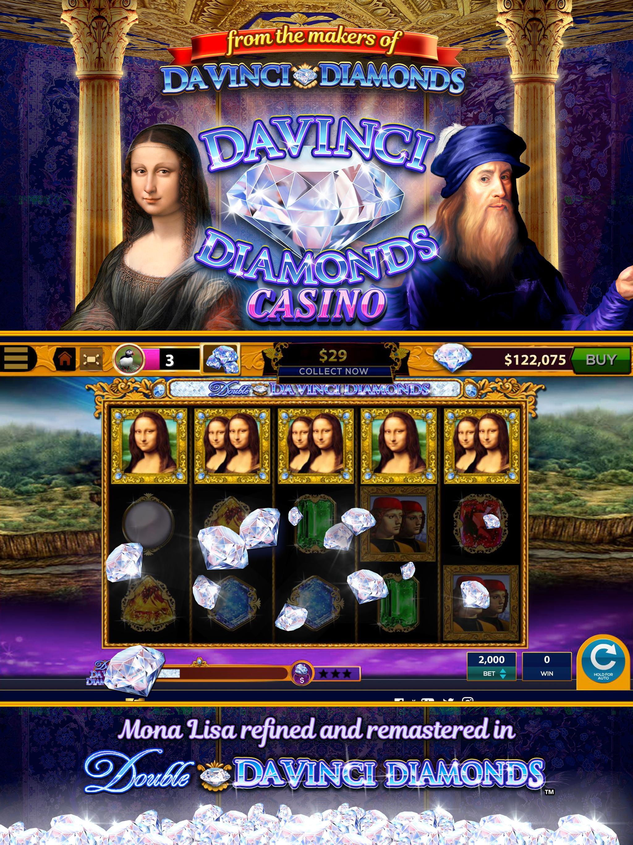 Da Vinci Diamonds Casino – Best Free Slot Machines 3.0.5 Screenshot 11