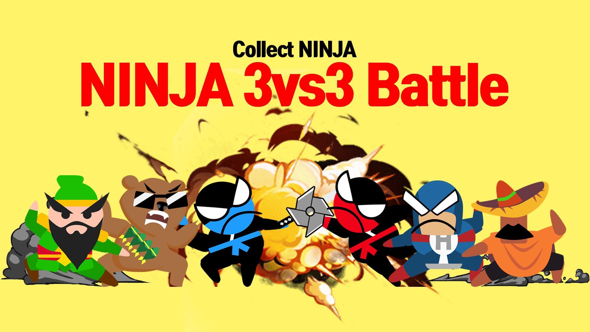 Jumping Ninja Battle - Two Player battle Action 3.97 Screenshot 3