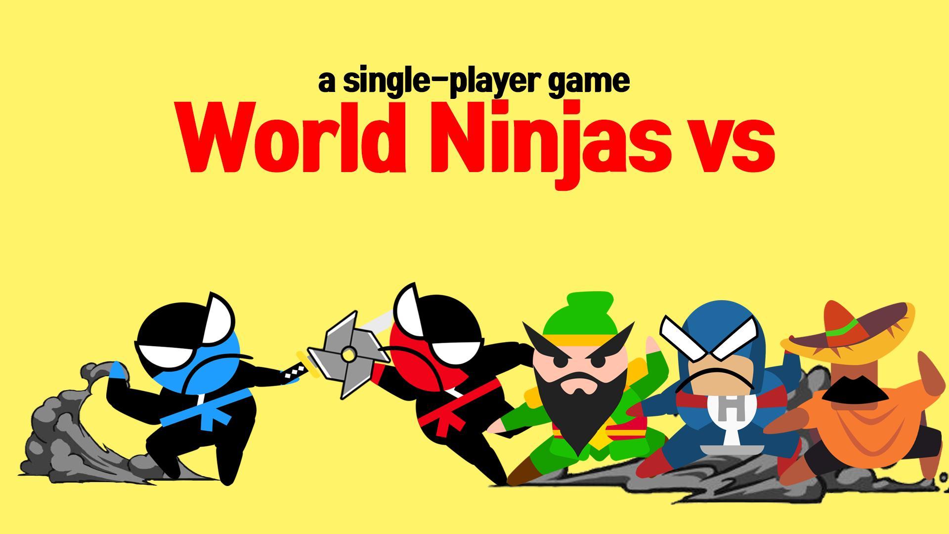Jumping Ninja Battle - Two Player battle Action 3.97 Screenshot 8