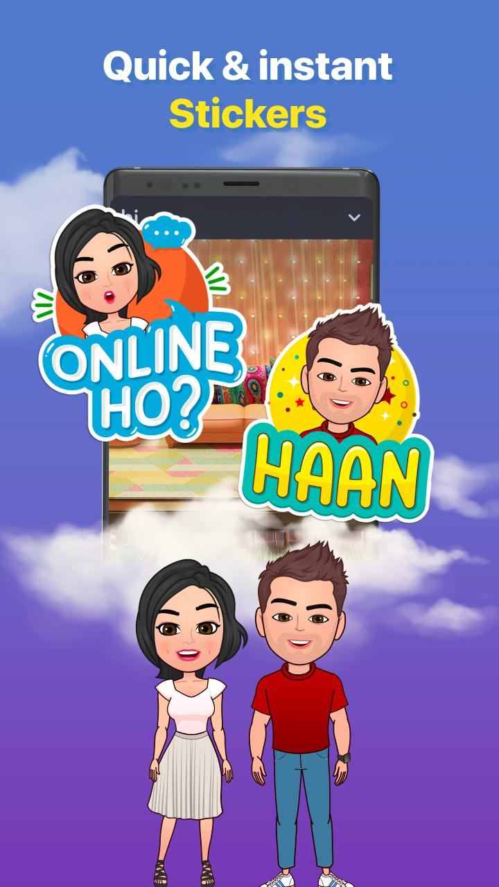 Hike Sticker Chat - Fun & Expressive Messaging 6.3.90 Screenshot 5