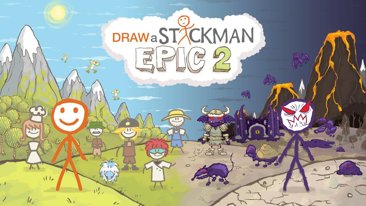 Draw a Stickman: EPIC 2 Free 1.2.1.57 Screenshot 1