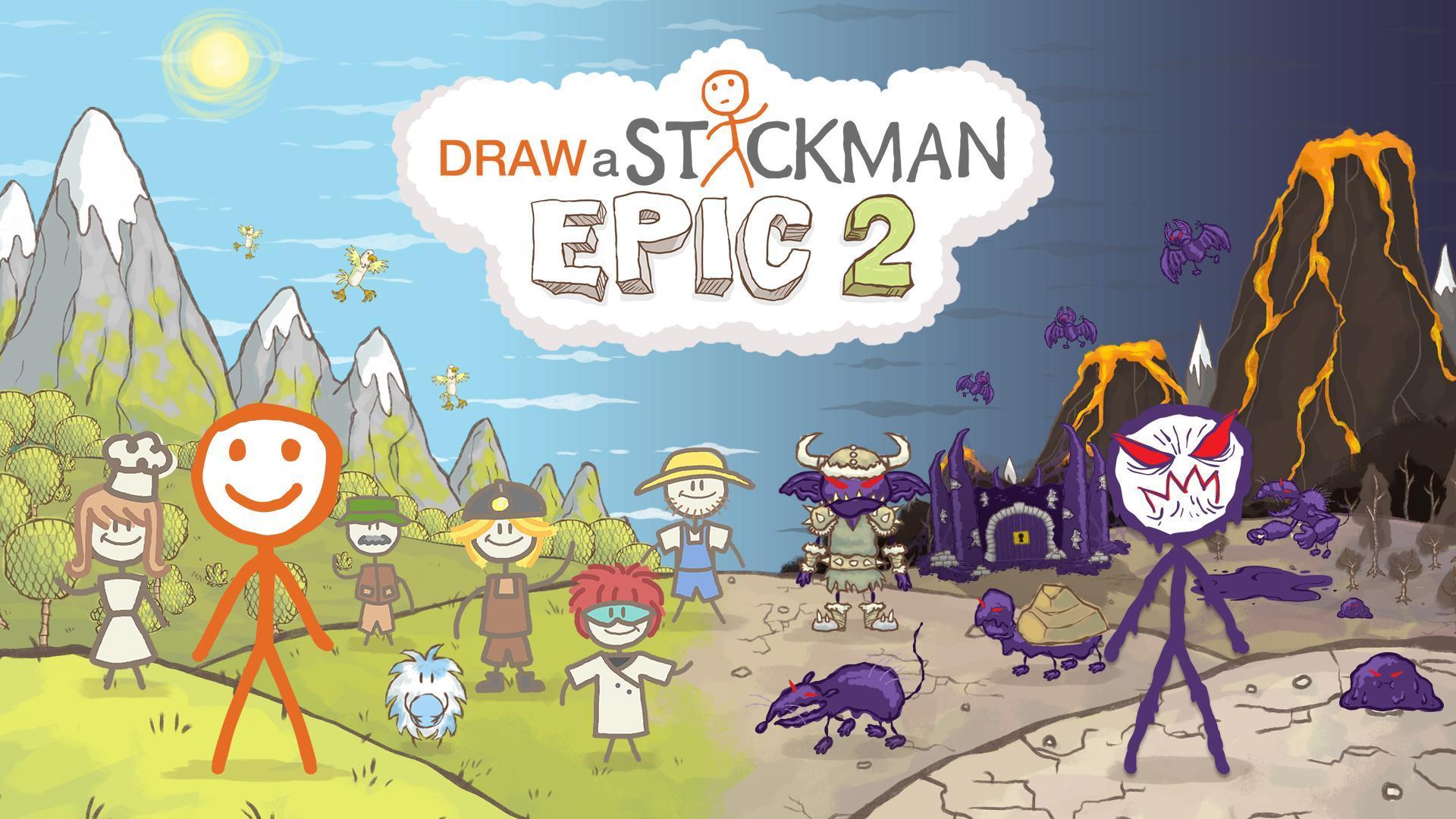 Draw a Stickman: EPIC 2 Free 1.2.1.57 Screenshot 6