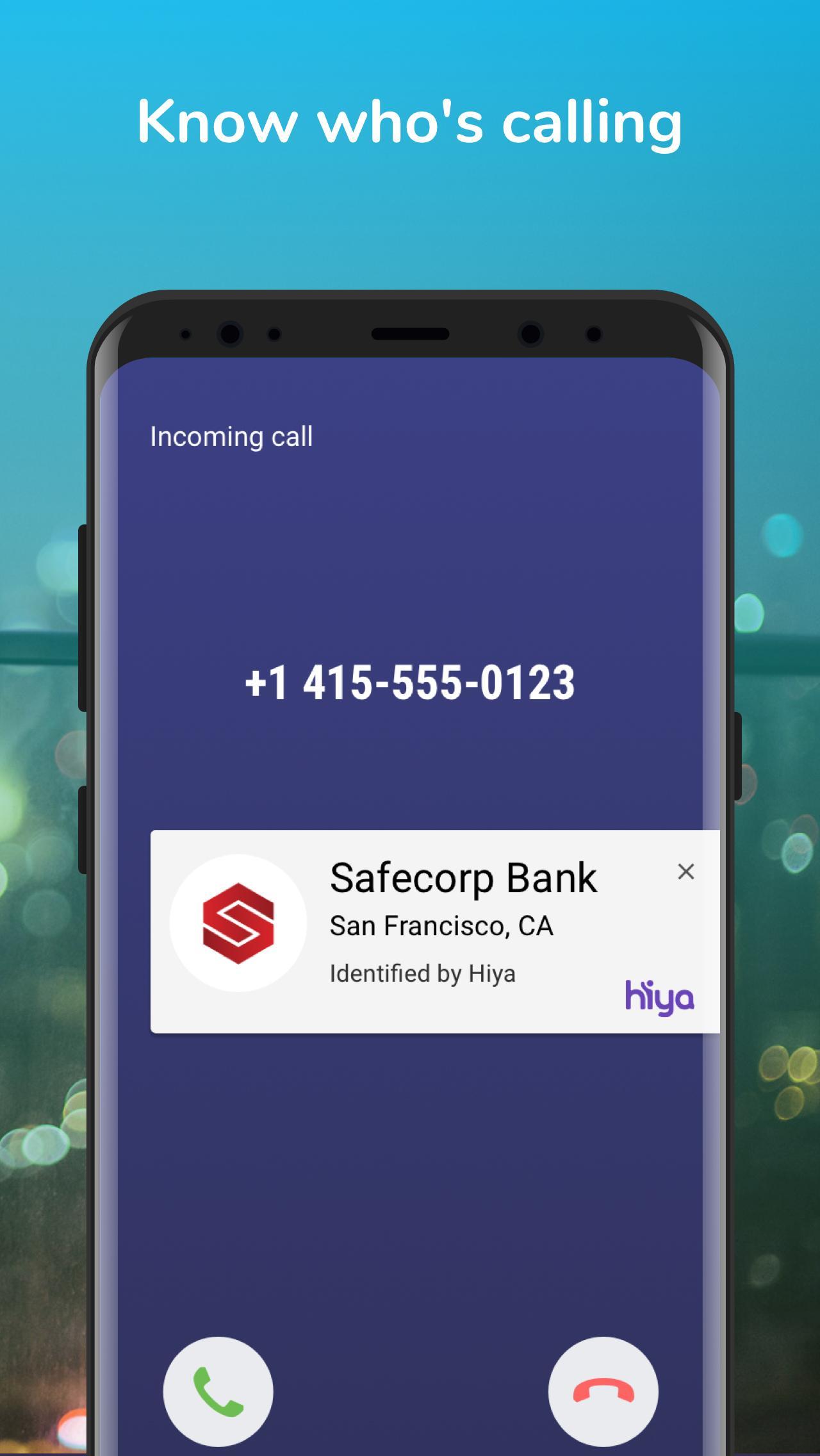 Hiya Call Blocker, Fraud Detection & Caller ID 9.9.2-7069 Screenshot 1