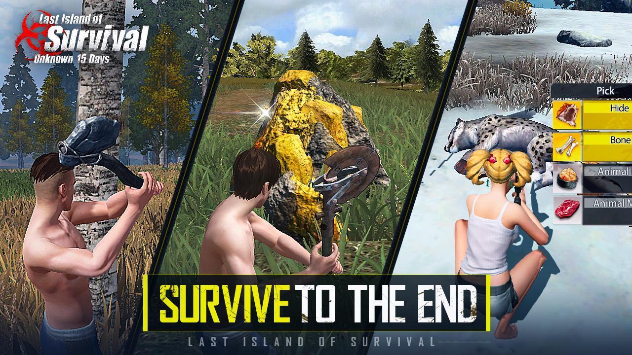 Last Island of Survival: Unknown 15 Days 2.8 Screenshot 2