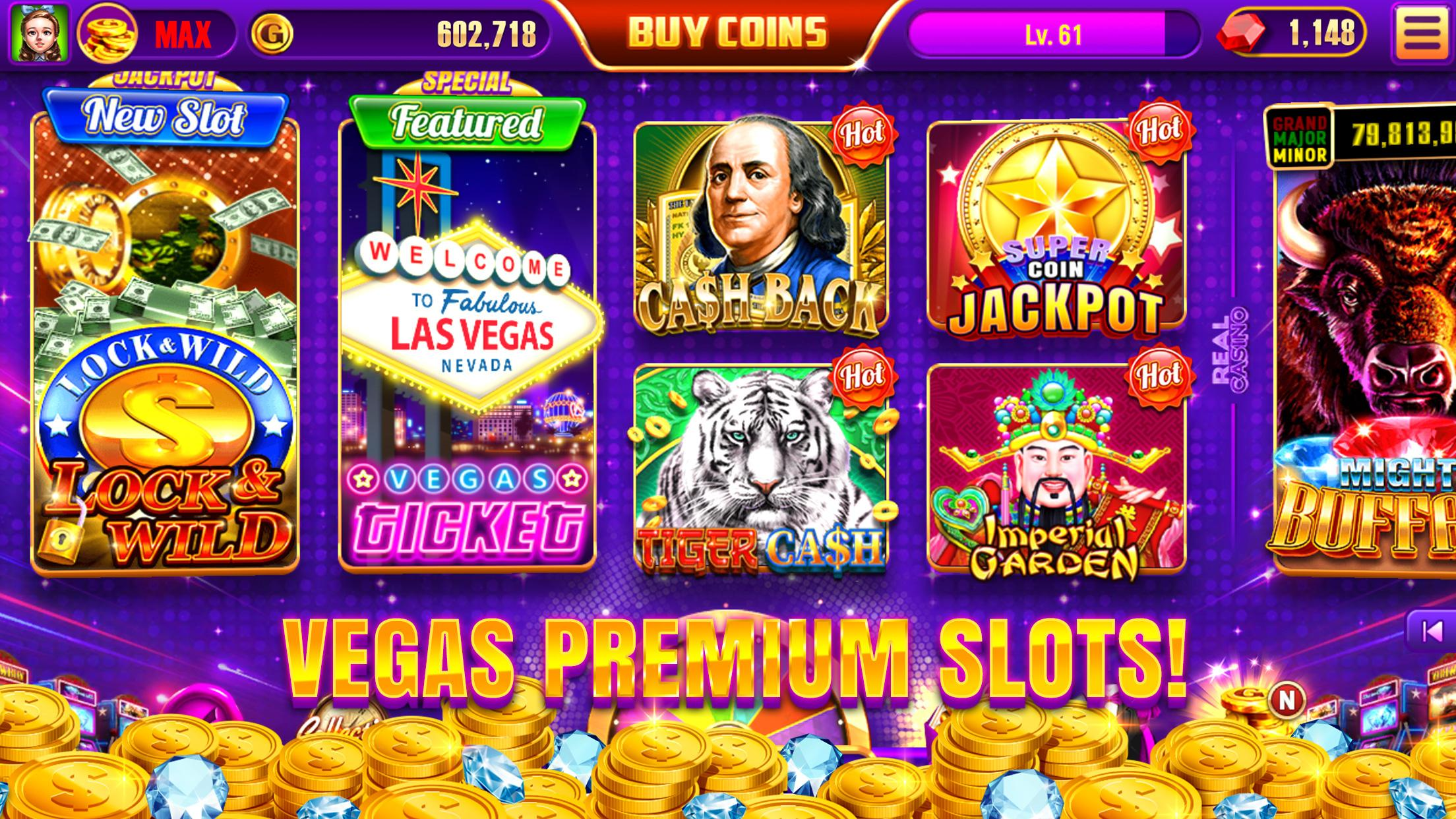 Real Casino - Free Vegas Casino Slot Machines 4.0.824 Screenshot 18