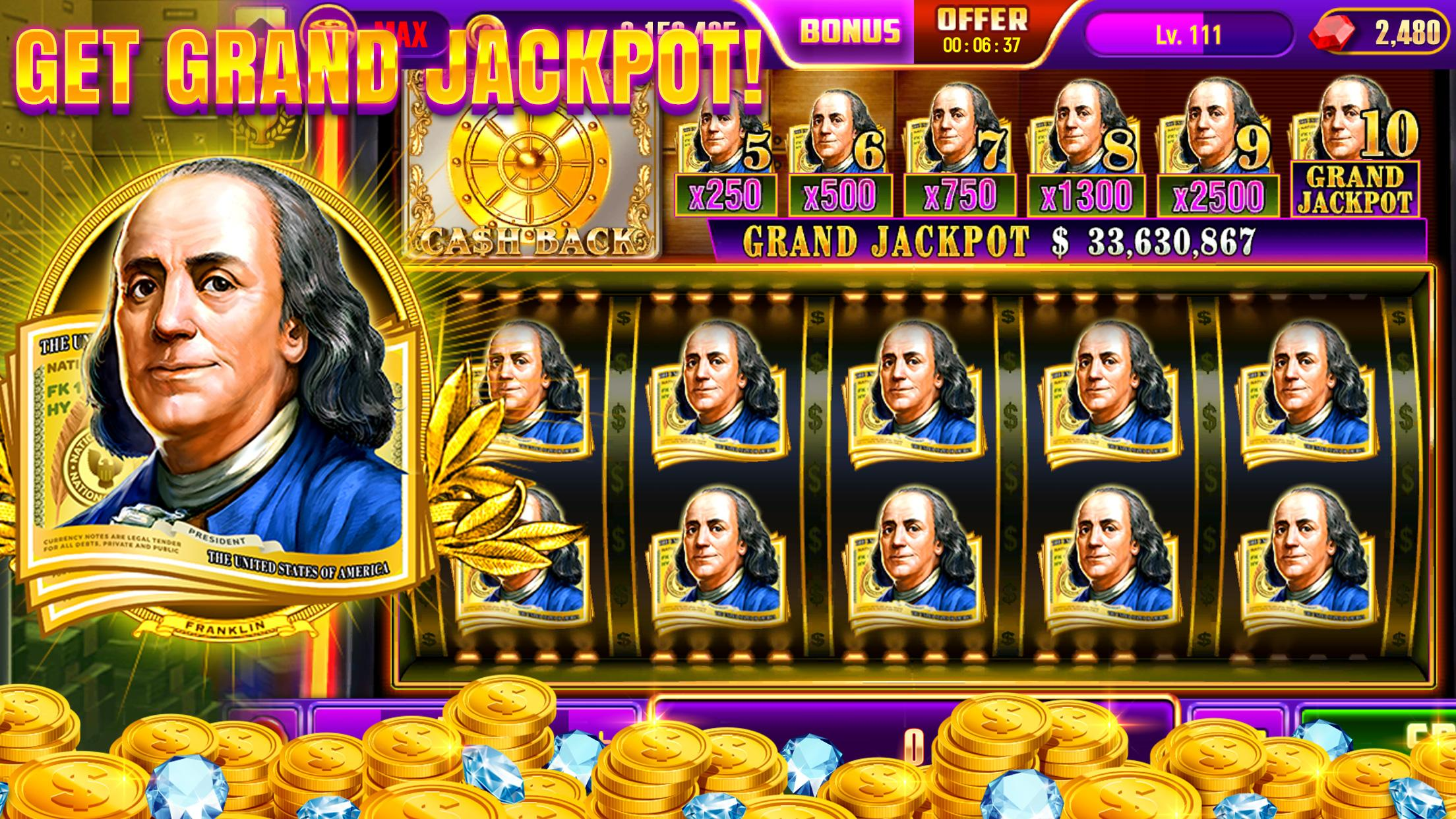 Real Casino - Free Vegas Casino Slot Machines 4.0.824 Screenshot 3