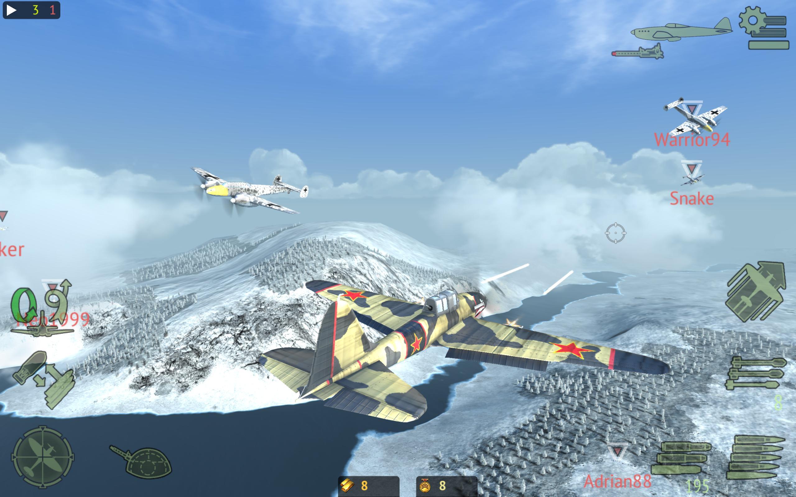 Warplanes: Online Combat 1.2 Screenshot 10