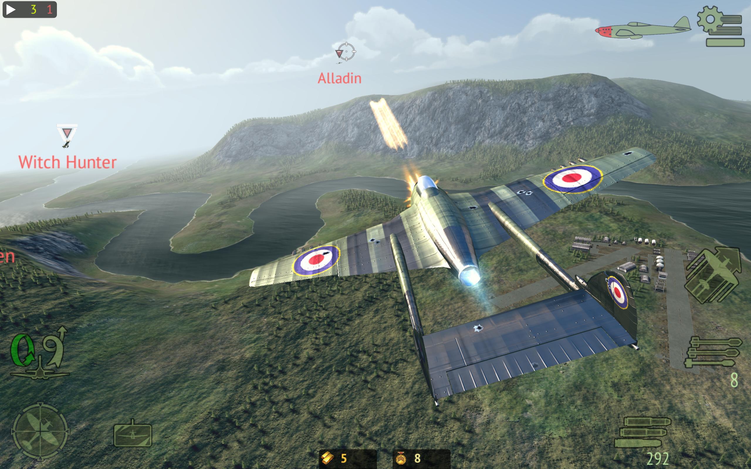 Warplanes: Online Combat 1.2 Screenshot 11