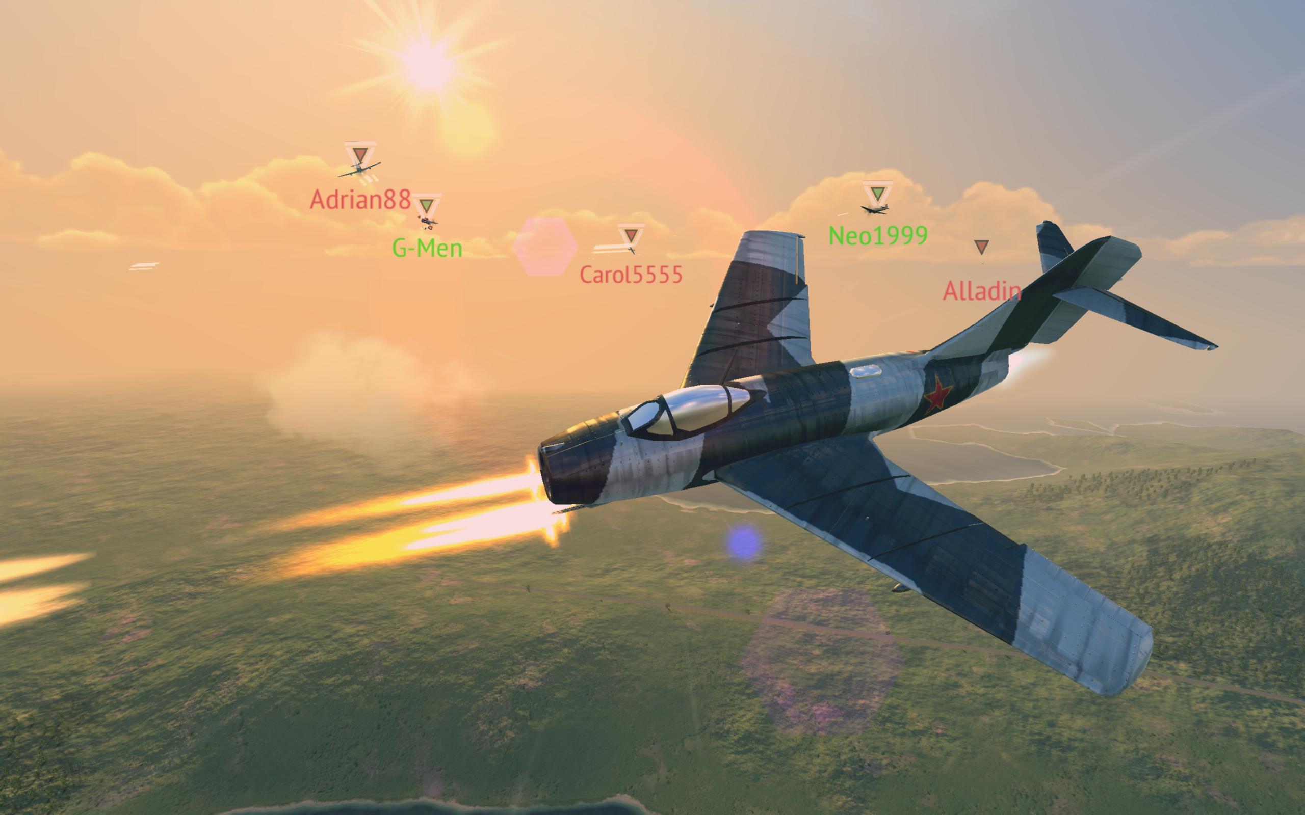 Warplanes: Online Combat 1.2 Screenshot 14