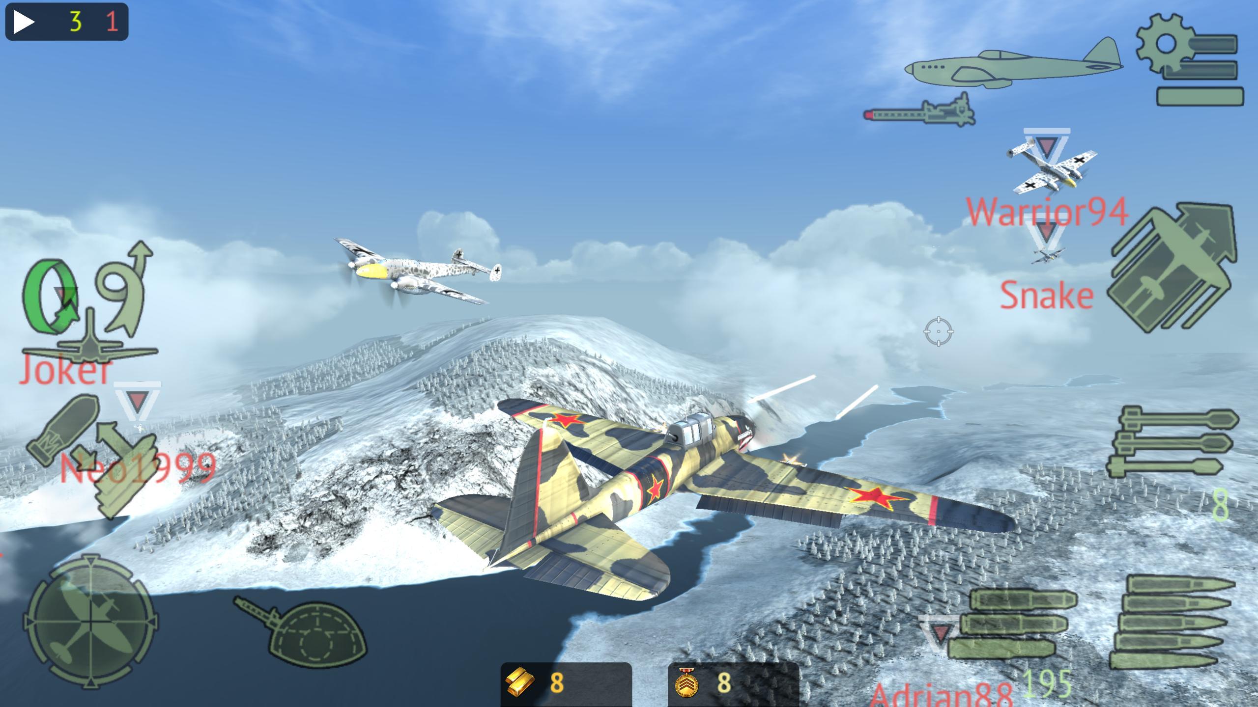 Warplanes: Online Combat 1.2 Screenshot 2