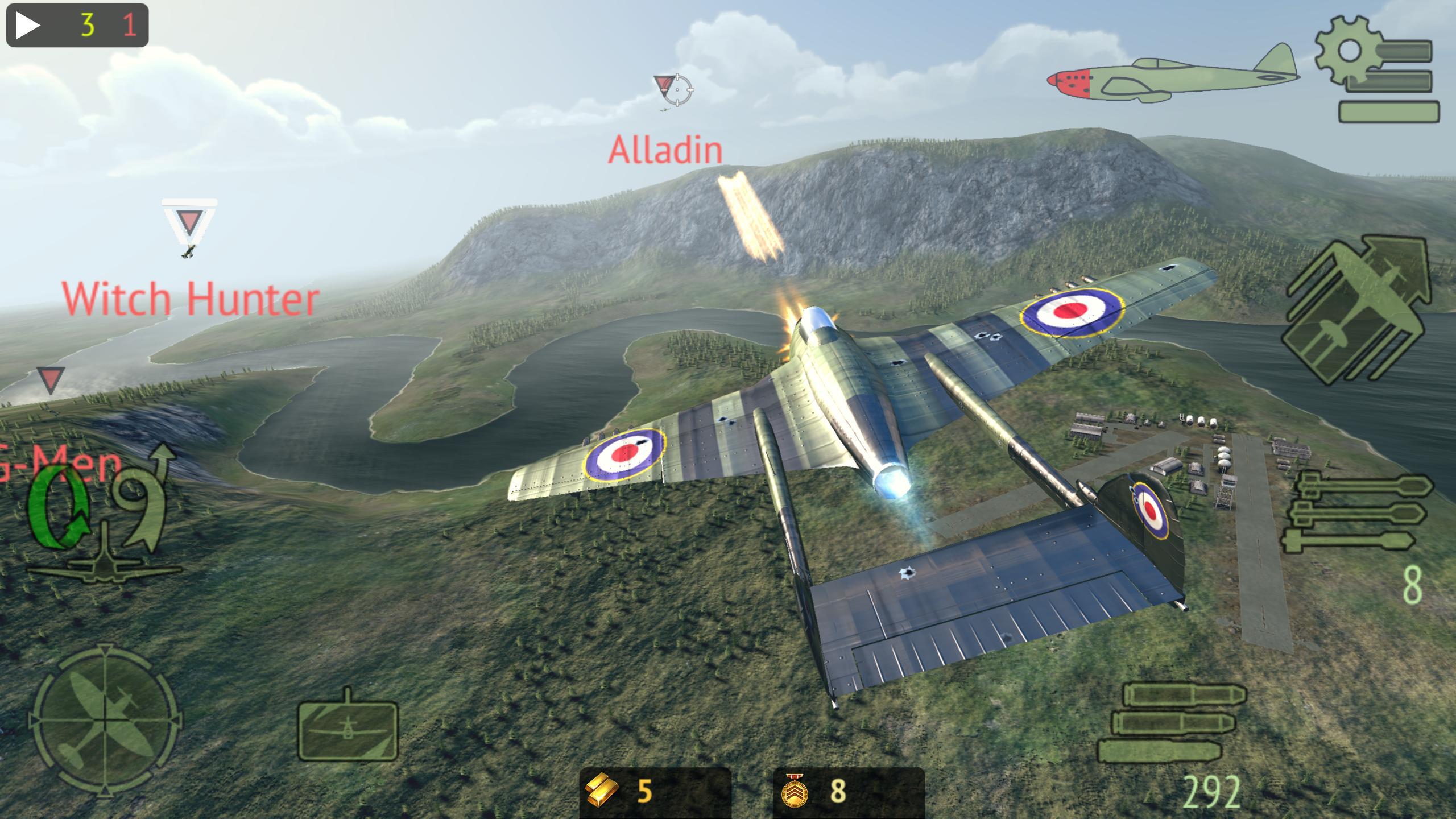 Warplanes: Online Combat 1.2 Screenshot 3