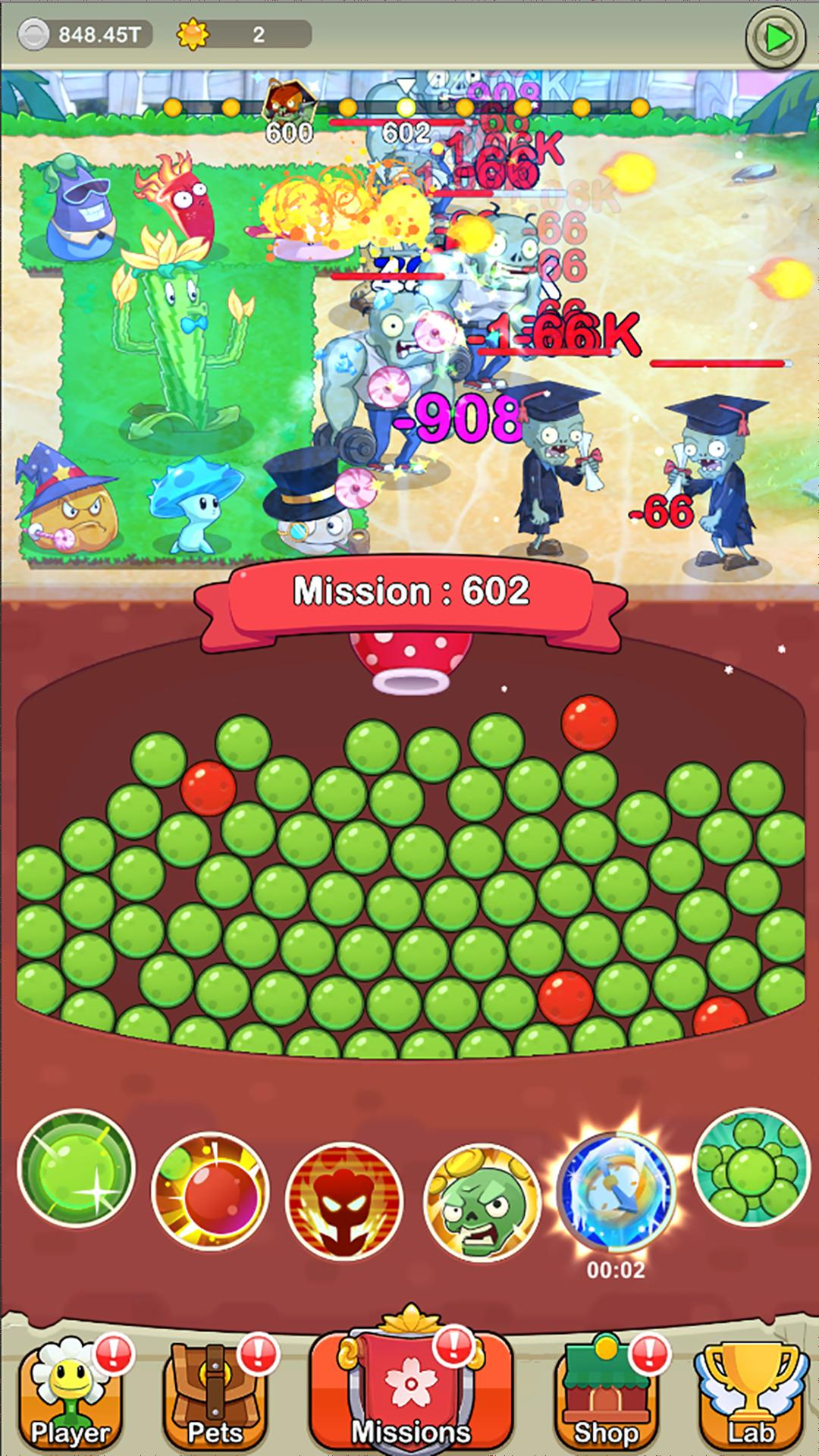 Save Garden Zombie Attack & Idle RPG 1.3.5 Screenshot 1