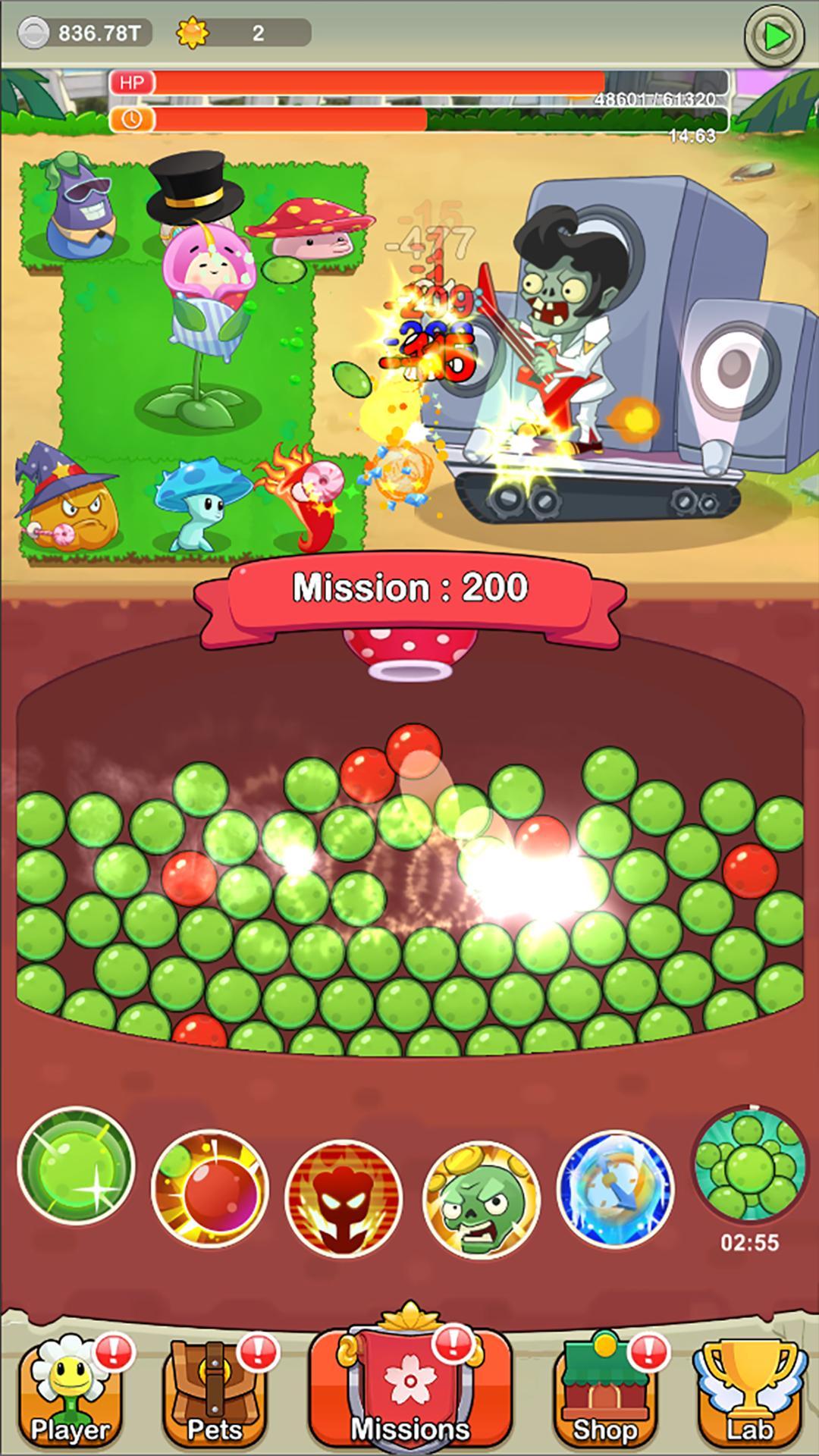 Save Garden Zombie Attack & Idle RPG 1.3.5 Screenshot 2