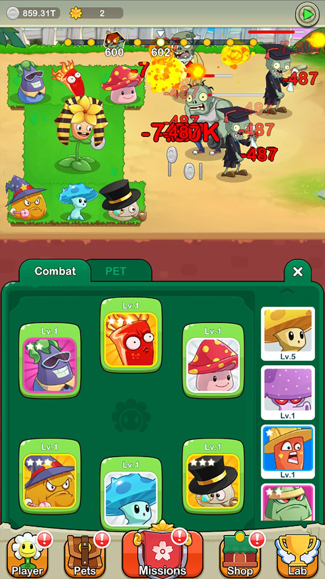 Save Garden Zombie Attack & Idle RPG 1.3.5 Screenshot 4