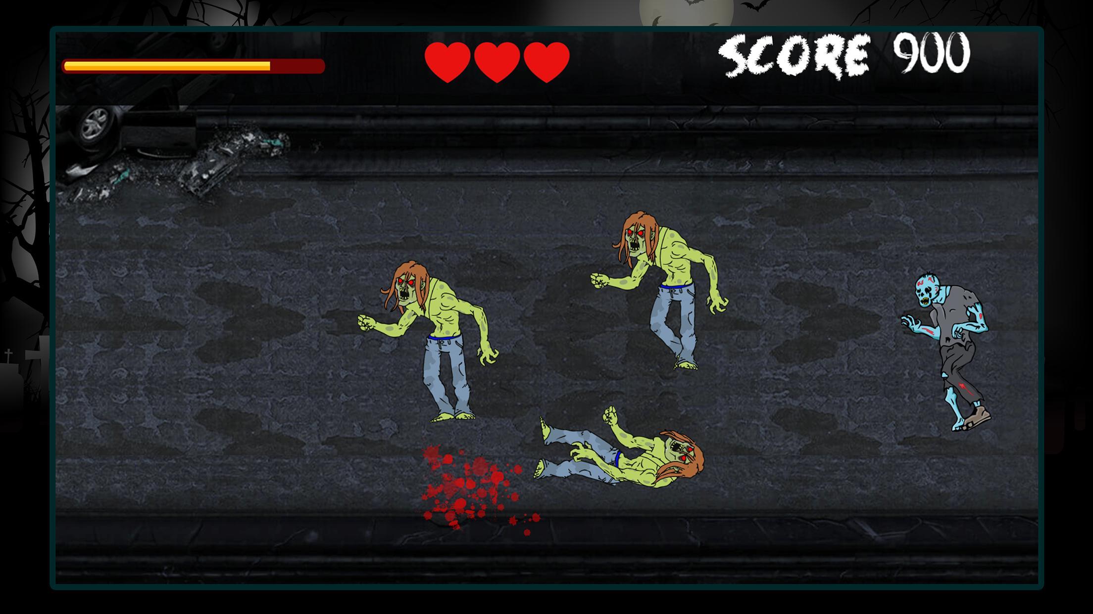 Zombie Smasher Highway Attack 1.0.2 Screenshot 2