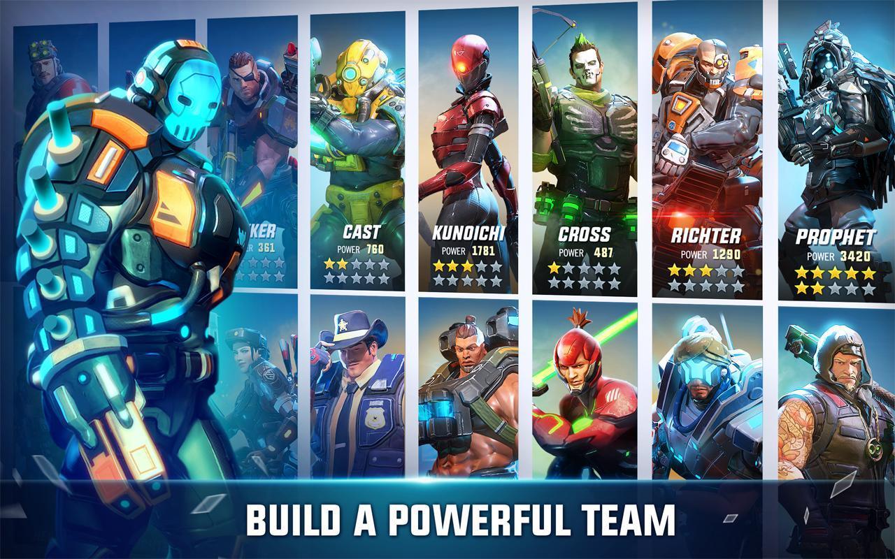 Hero Hunters 4.3 Screenshot 1
