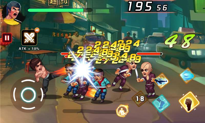 Kung Fu Attack 2 Fist of Brutal 1.8.9.101 Screenshot 1