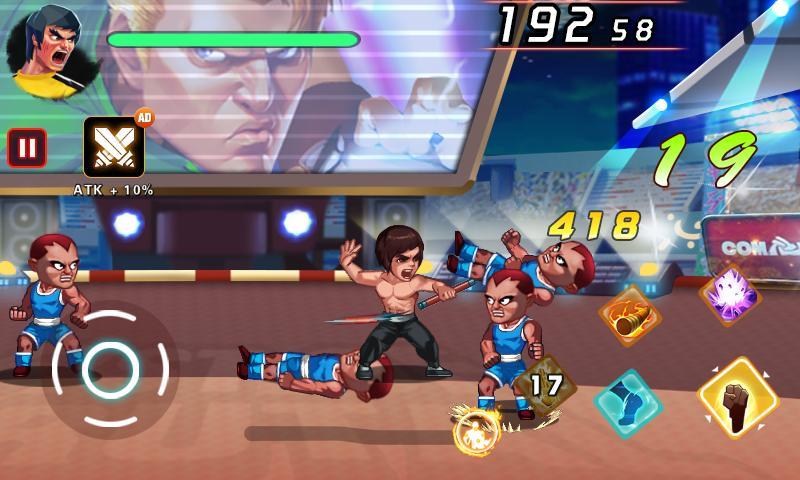 Kung Fu Attack 2 Fist of Brutal 1.8.9.101 Screenshot 2