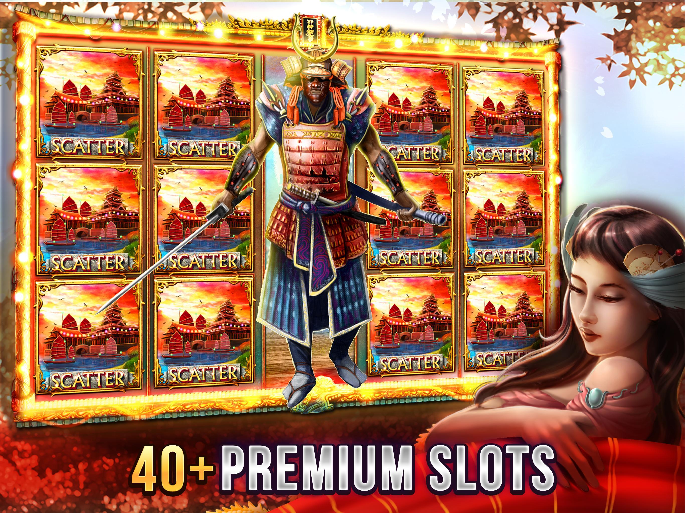 Free Vegas Casino Slots - Samurai 2.8.3600 Screenshot 1