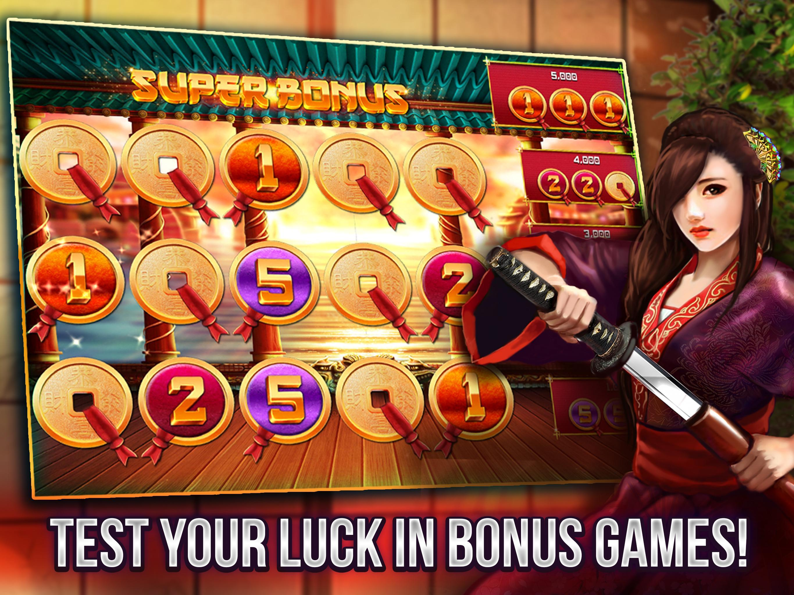 Free Vegas Casino Slots - Samurai 2.8.3600 Screenshot 13