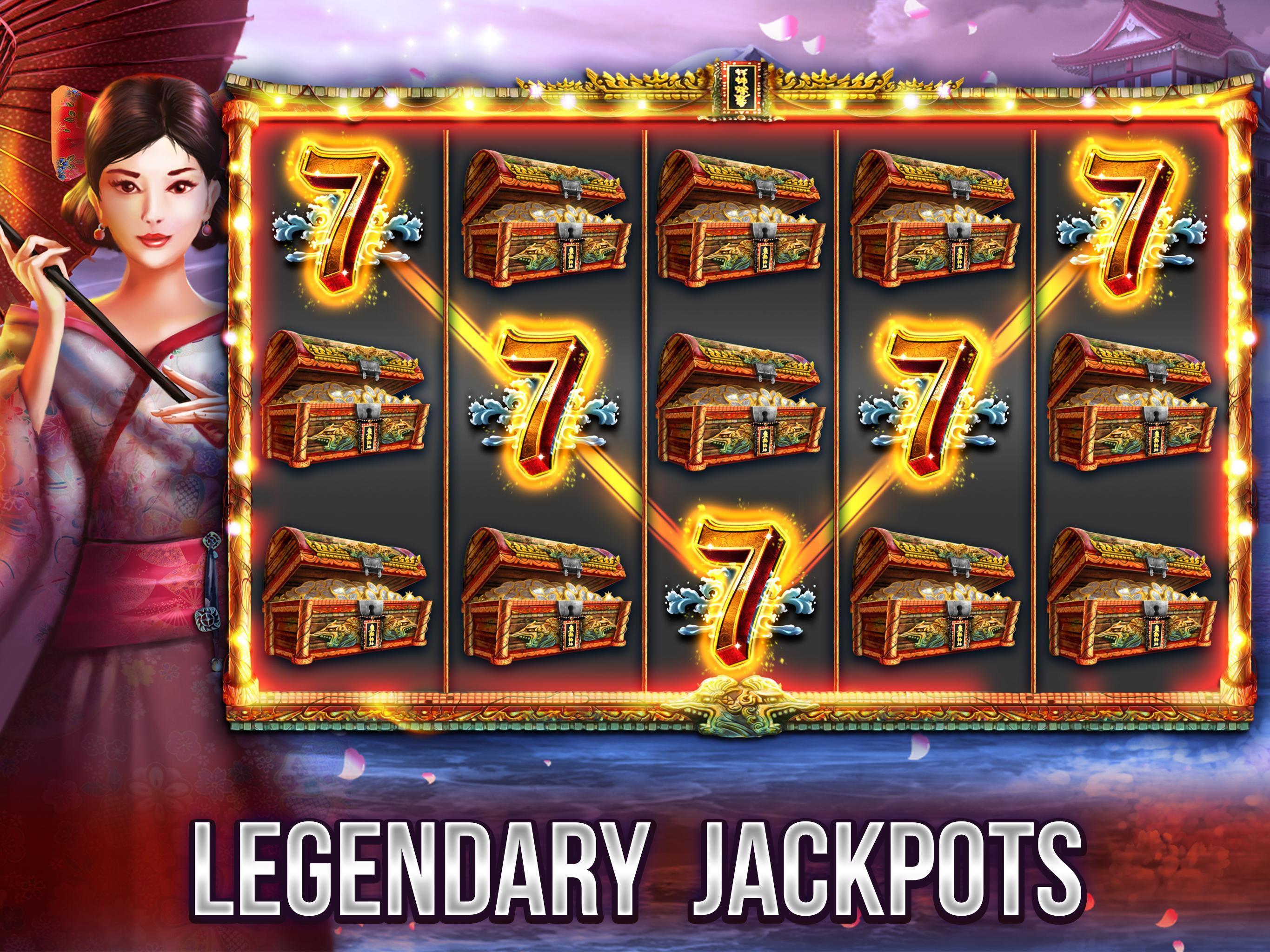 Free Vegas Casino Slots - Samurai 2.8.3600 Screenshot 5