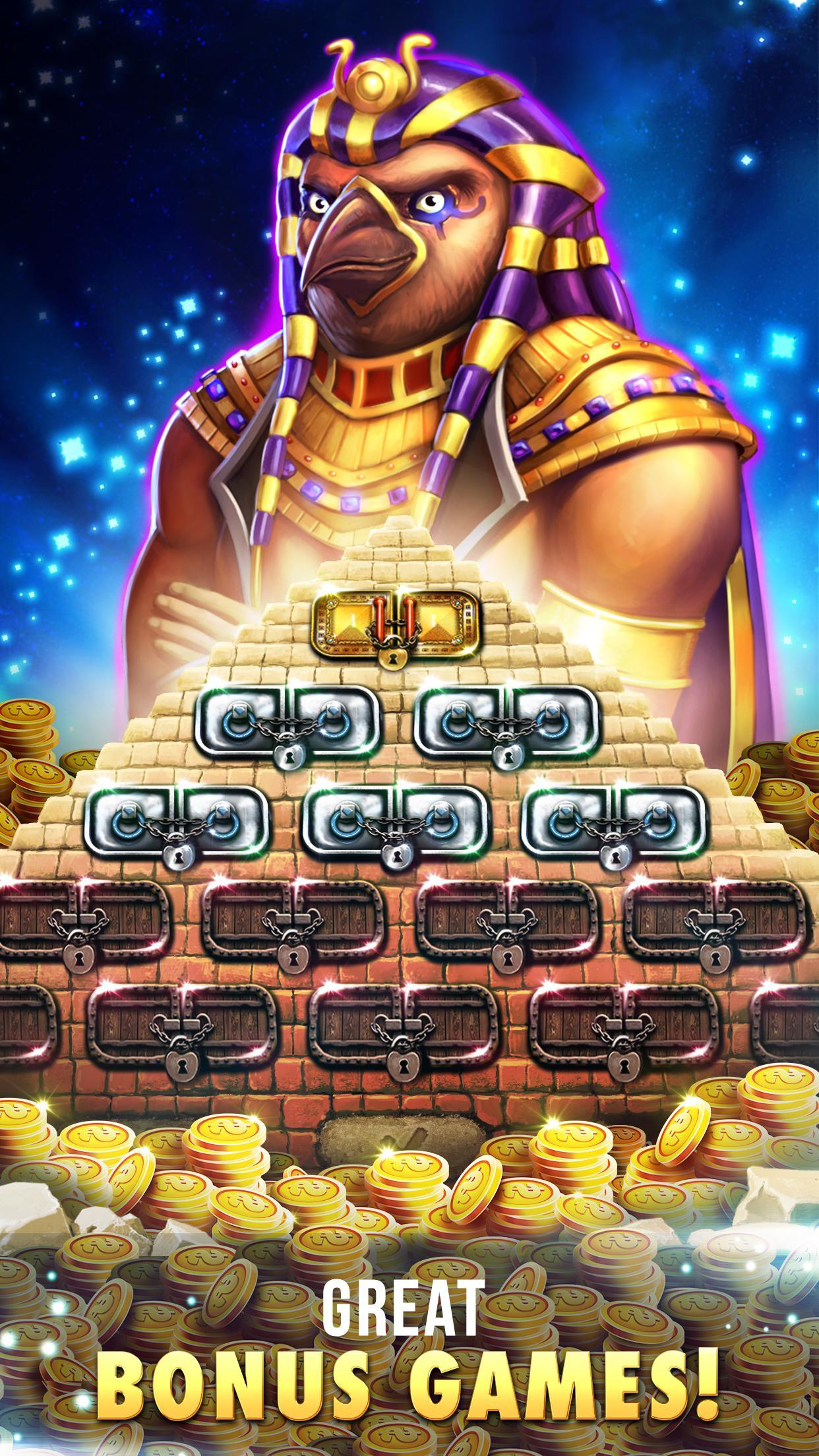 Slots™ - Pharaoh's adventure 2.8.3602 Screenshot 4