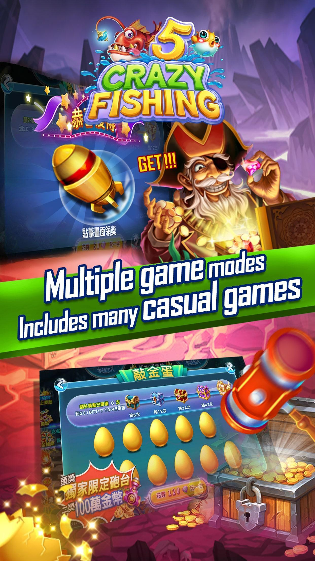 Crazyfishing 5- 2020 Arcade Fishing Game 1.0.3.10 Screenshot 2