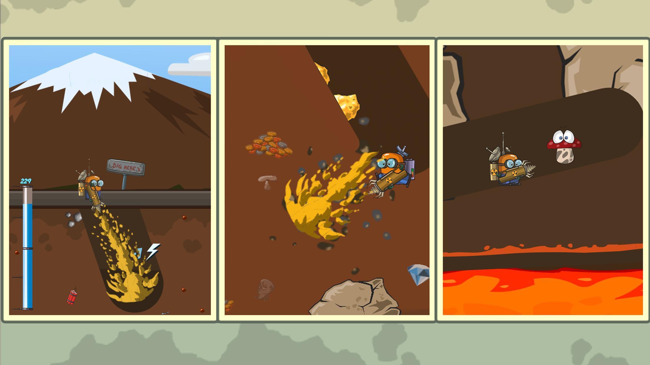 Diggy Dig & Find Minerals 1.0.7 Screenshot 1