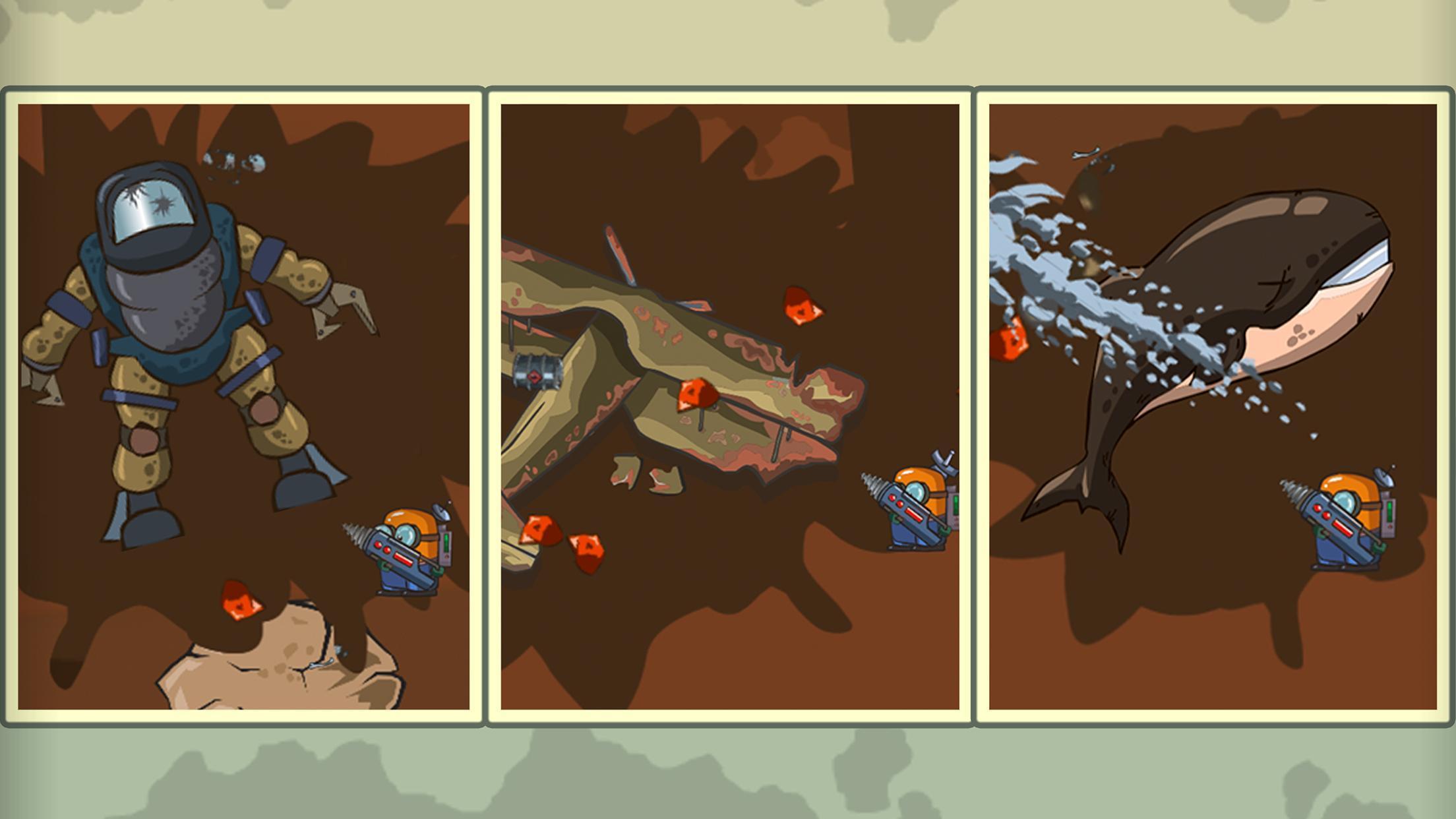 Diggy Dig & Find Minerals 1.0.7 Screenshot 2