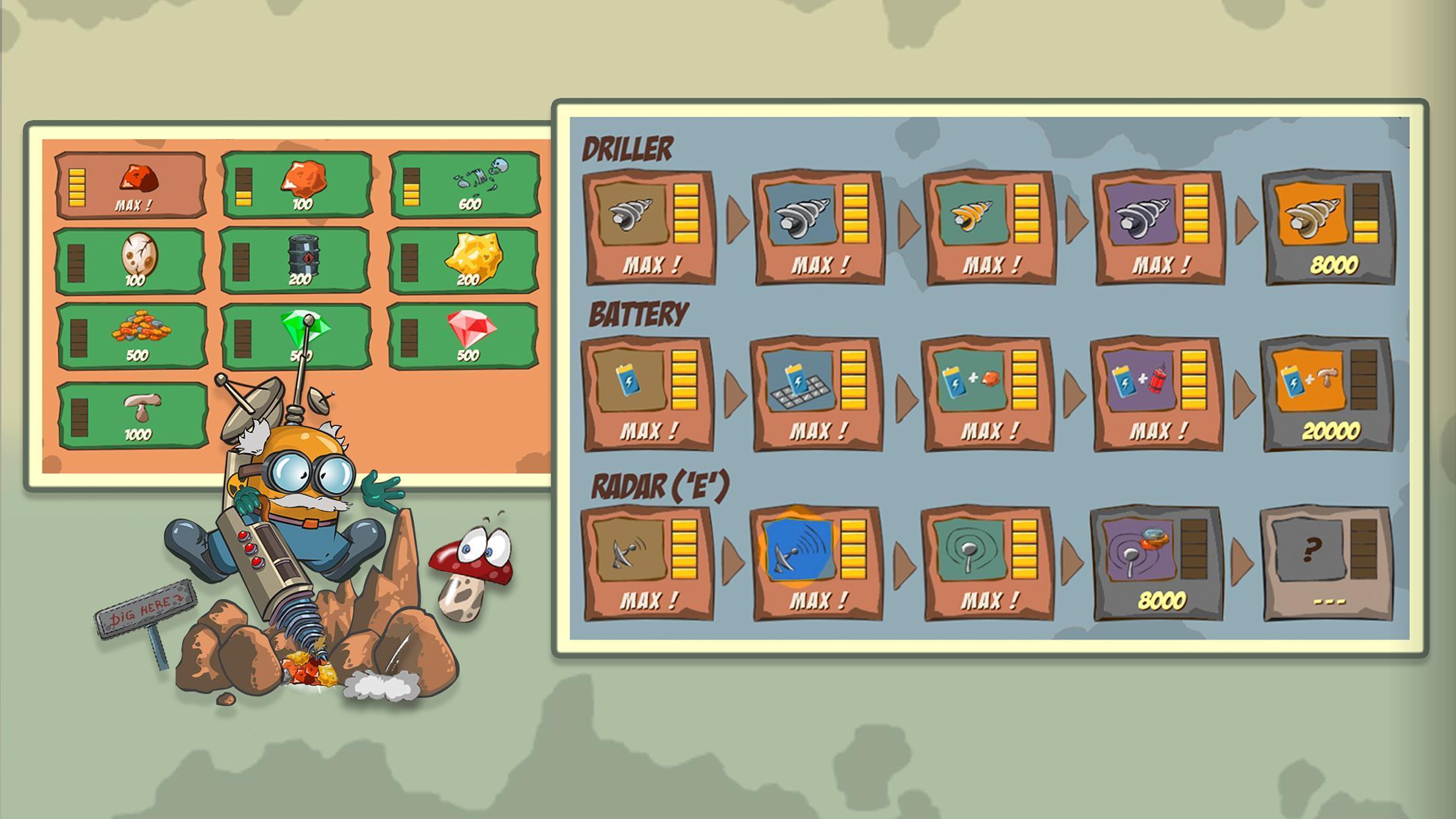 Diggy Dig & Find Minerals 1.0.7 Screenshot 5