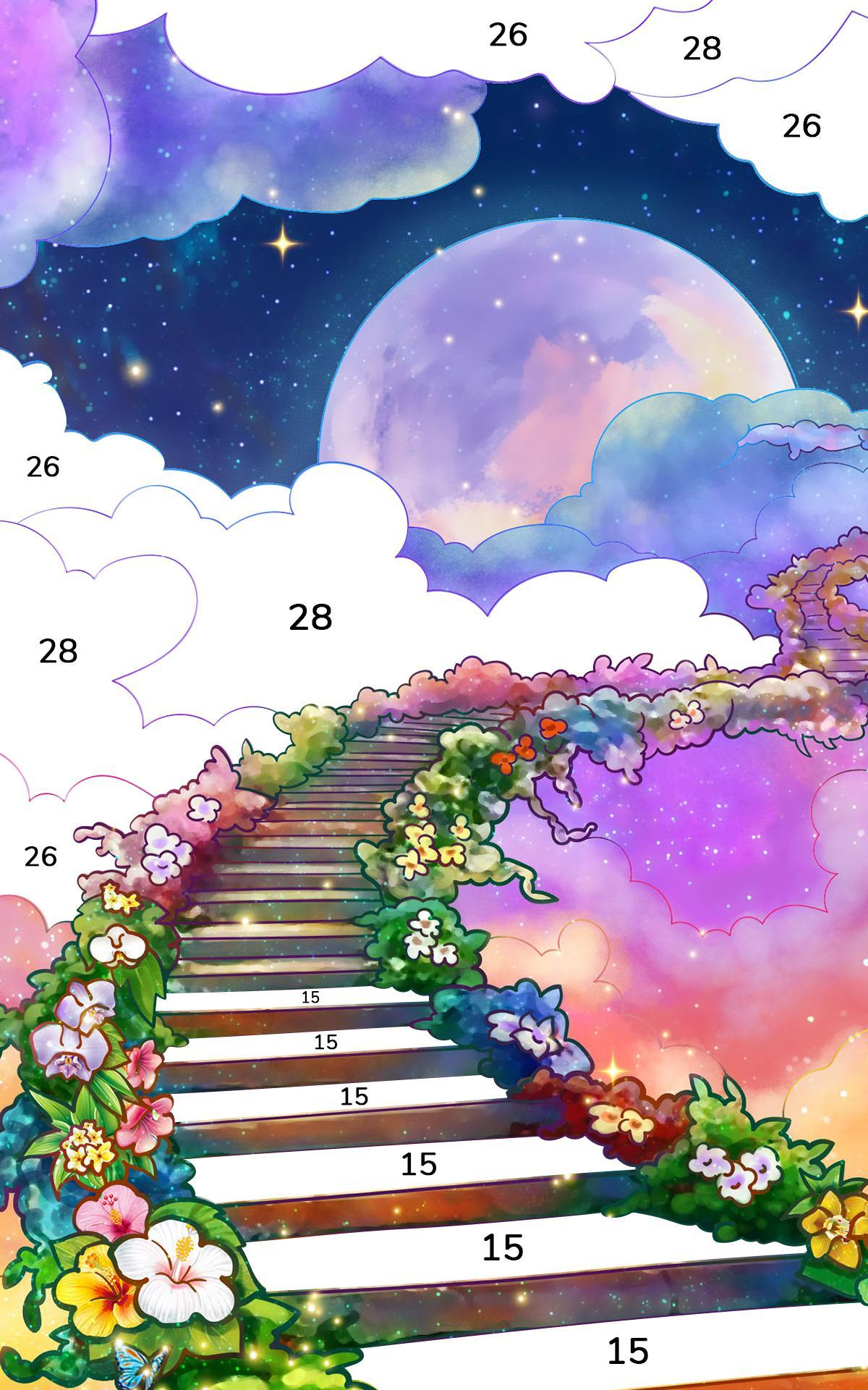 Bible Coloring Paint by Number, Free Bible Games 2.1.14 Screenshot 11