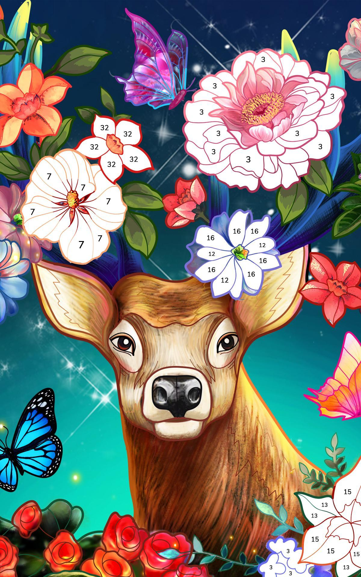 Bible Coloring Paint by Number, Free Bible Games 2.1.14 Screenshot 13