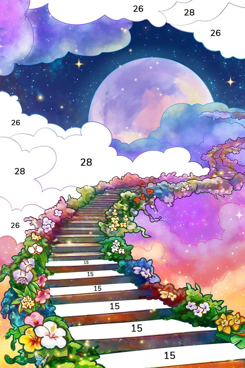 Bible Coloring Paint by Number, Free Bible Games 2.1.14 Screenshot 19