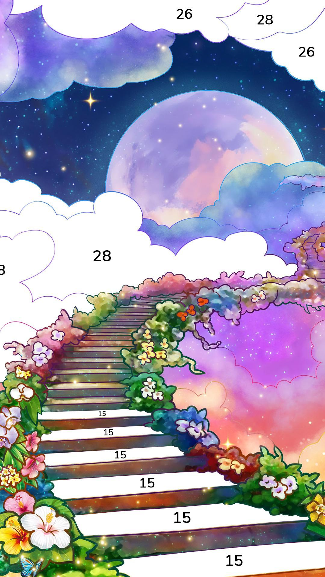 Bible Coloring Paint by Number, Free Bible Games 2.1.14 Screenshot 3