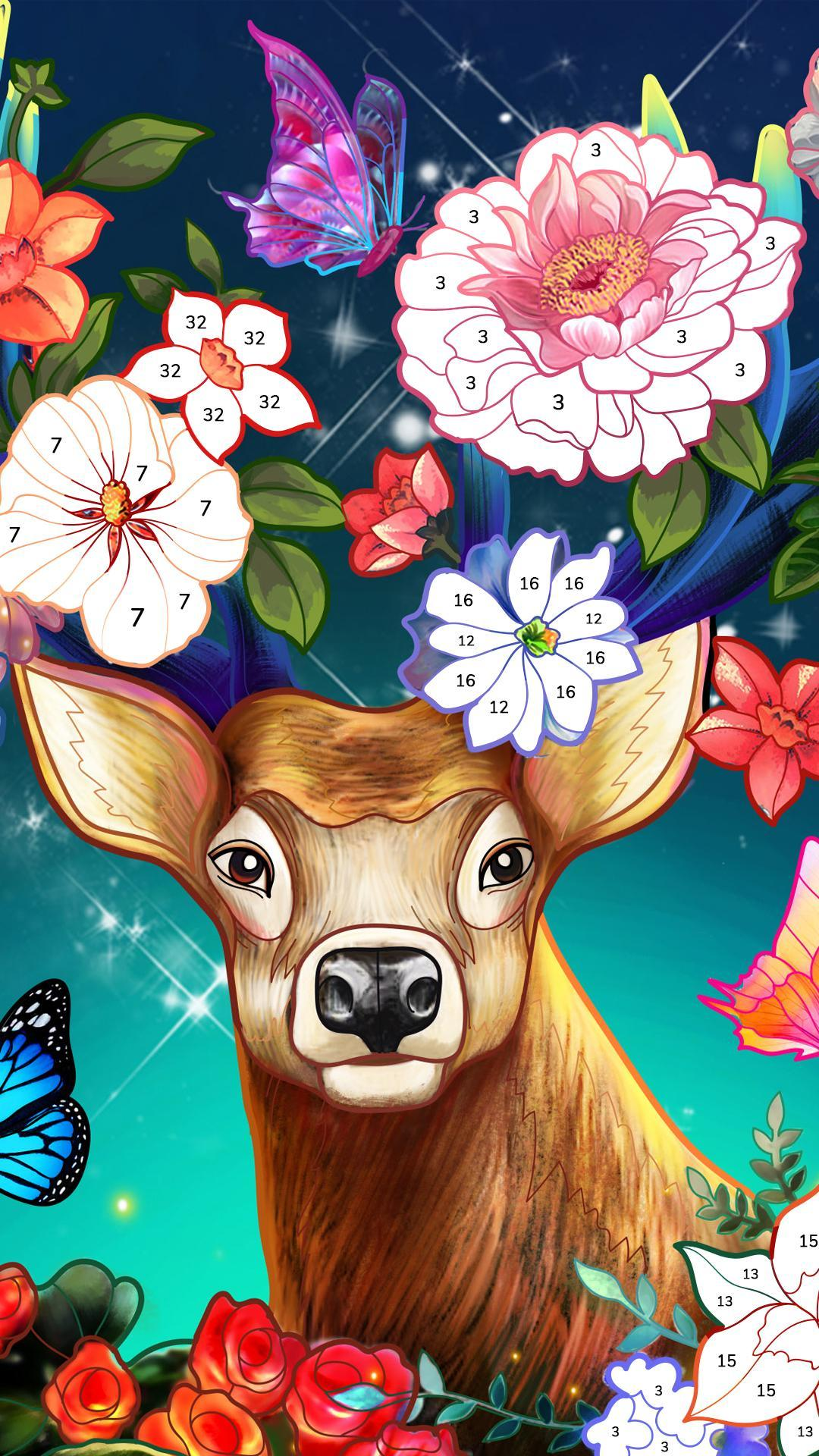 Bible Coloring Paint by Number, Free Bible Games 2.1.14 Screenshot 5
