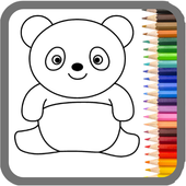 My Dino Town: Coloring Pages for Kids & Games app icon