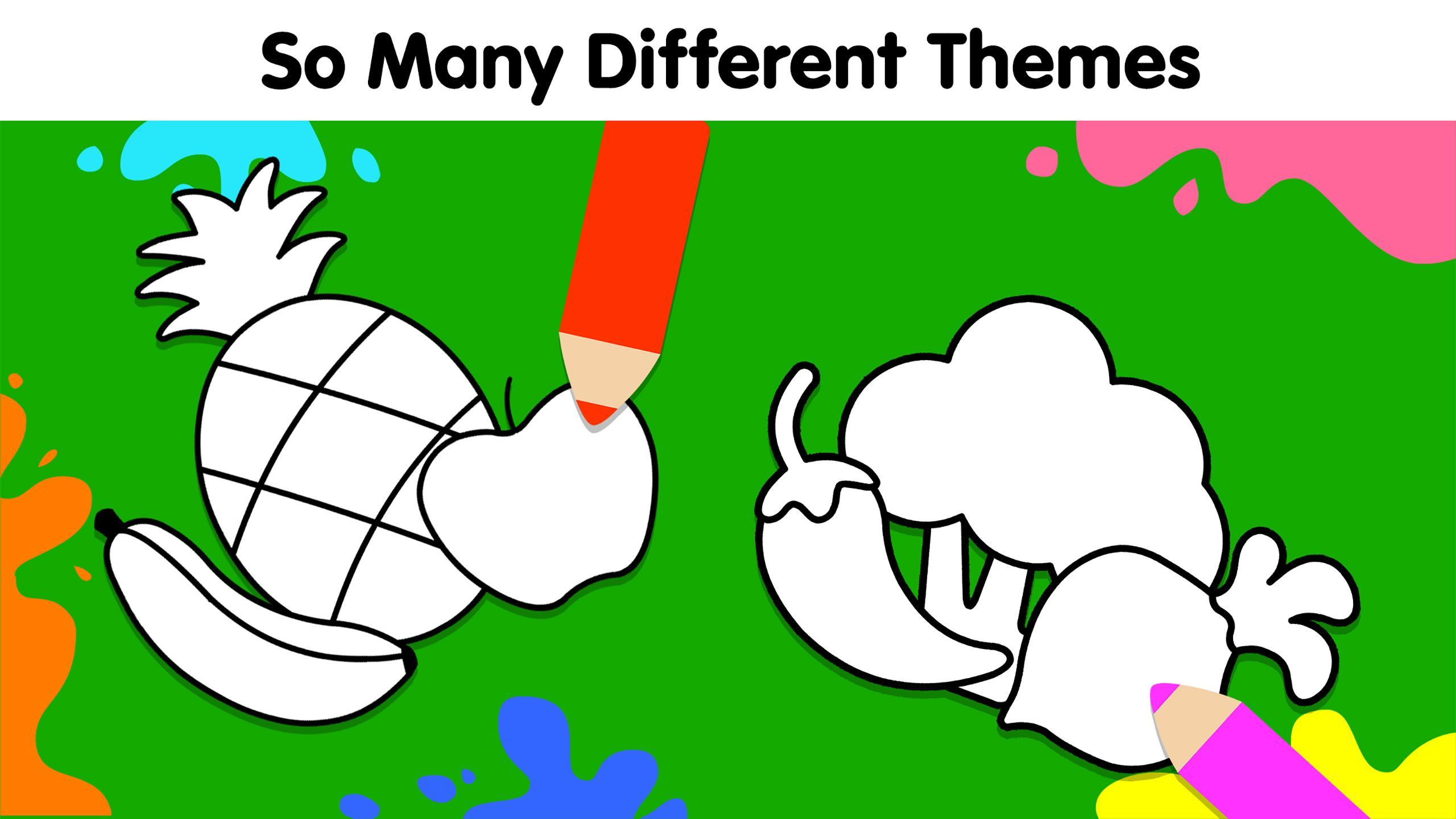 My Dino Town: Coloring Pages for Kids & Games 1.0 Screenshot 11