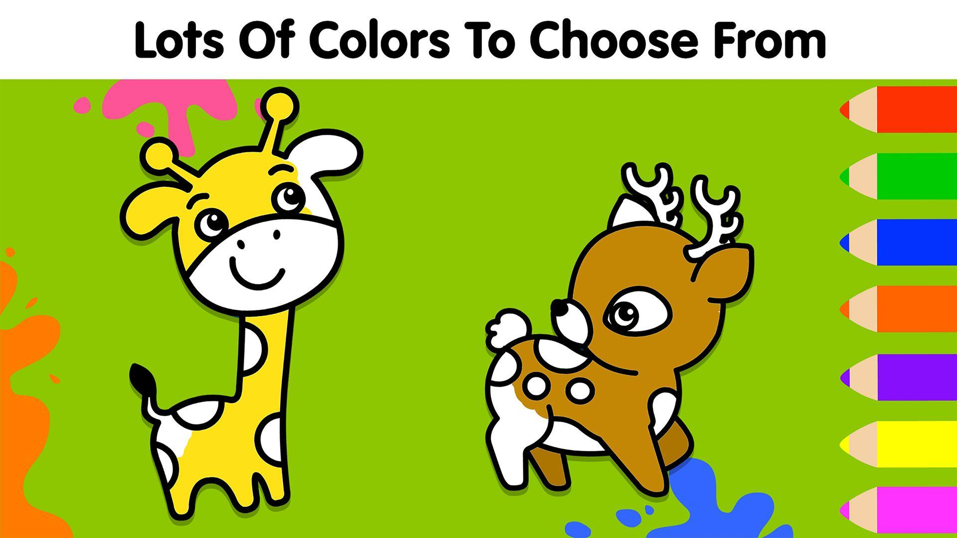 My Dino Town: Coloring Pages for Kids & Games 1.0 Screenshot 2