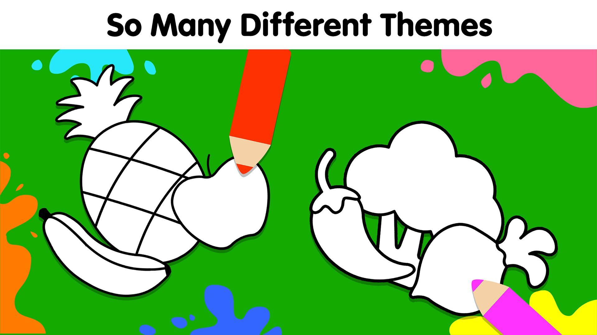 My Dino Town: Coloring Pages for Kids & Games 1.0 Screenshot 4