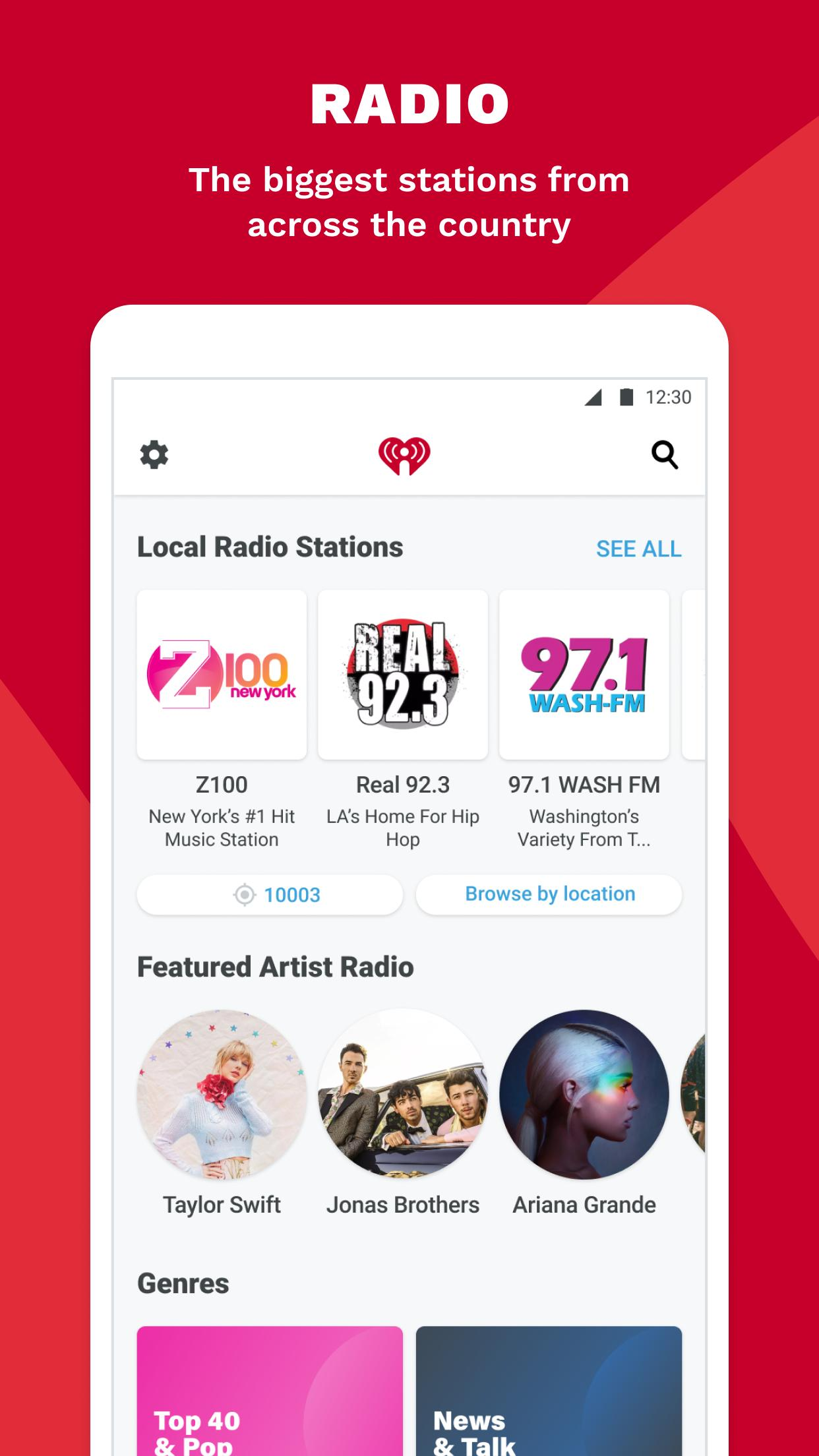 iHeartRadio Radio, Podcasts & Music On Demand 9.5.0 Screenshot 3