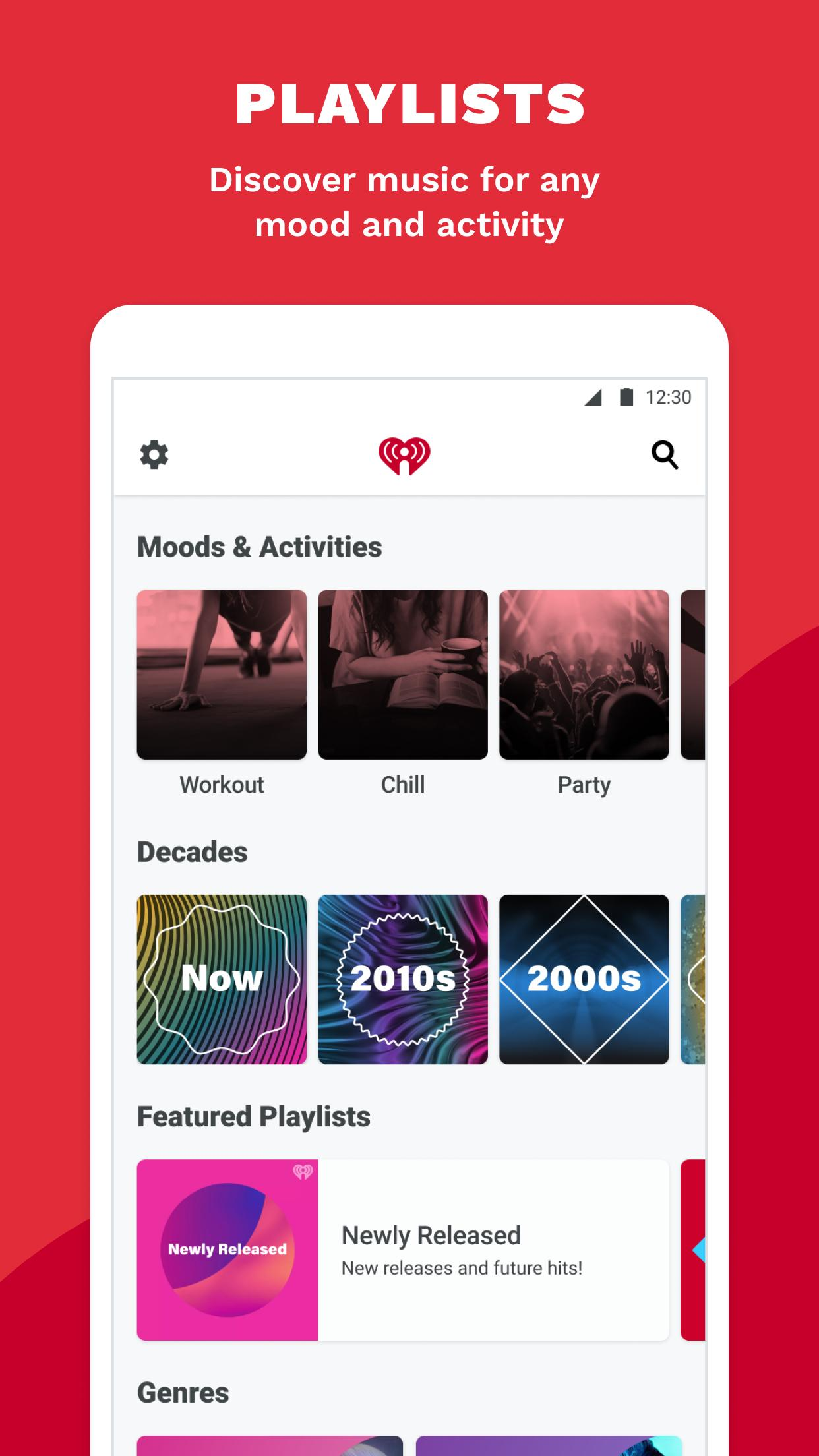 iHeartRadio Radio, Podcasts & Music On Demand 9.5.0 Screenshot 5