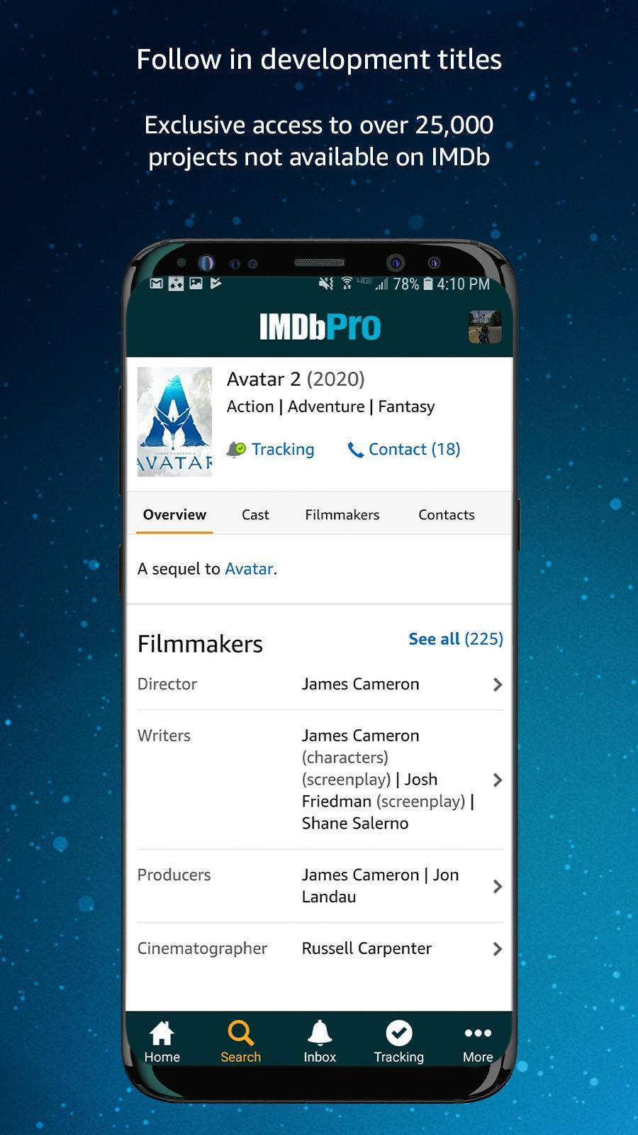 IMDbPro 1.6.2 Screenshot 3