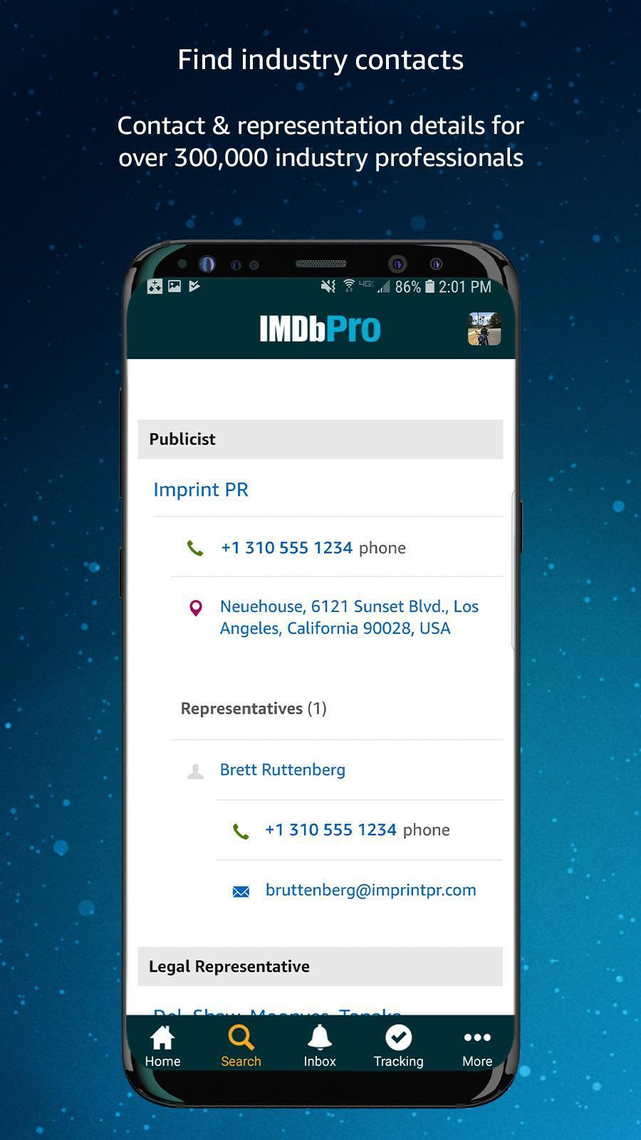 IMDbPro 1.6.2 Screenshot 6