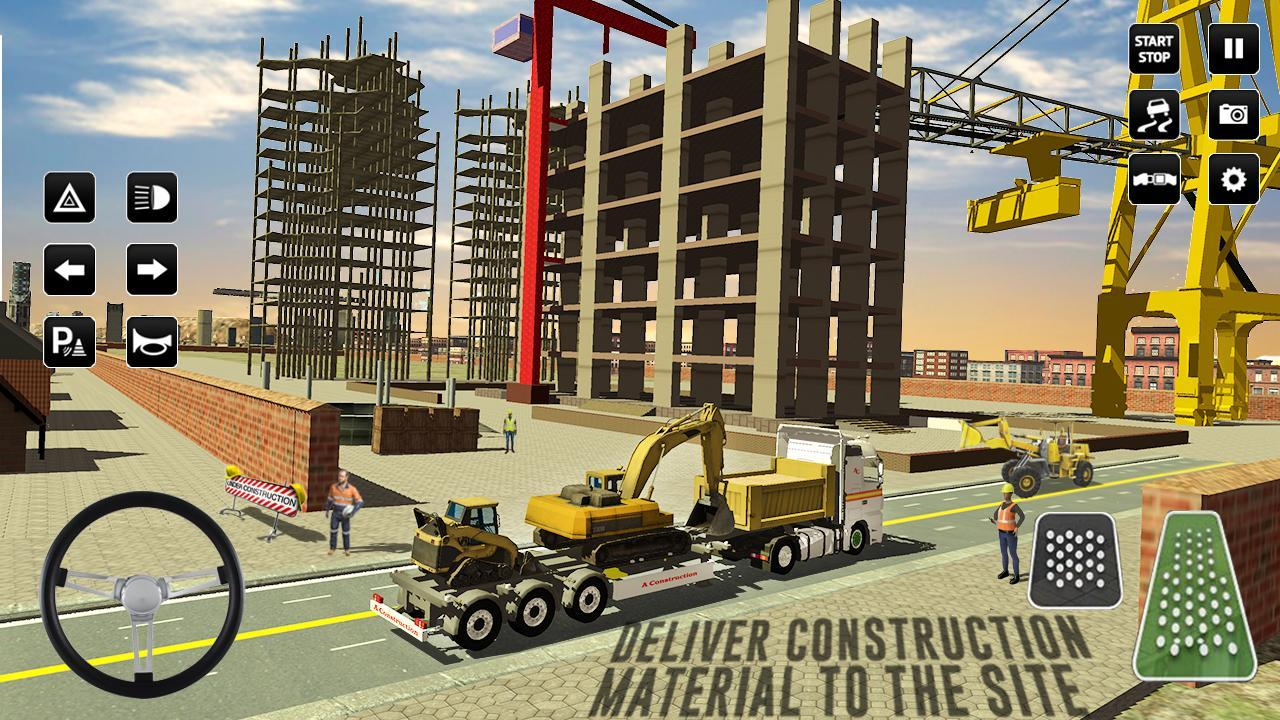 City Construction Simulator: Forklift Truck Game 3.33 Screenshot 2