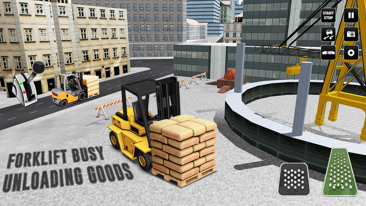 City Construction Simulator: Forklift Truck Game 3.33 Screenshot 20