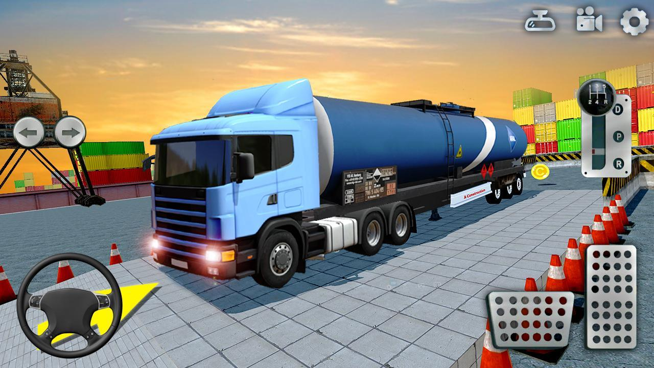 3D Truck Parking Simulator 2019: Real Truck Games 2.2 Screenshot 1