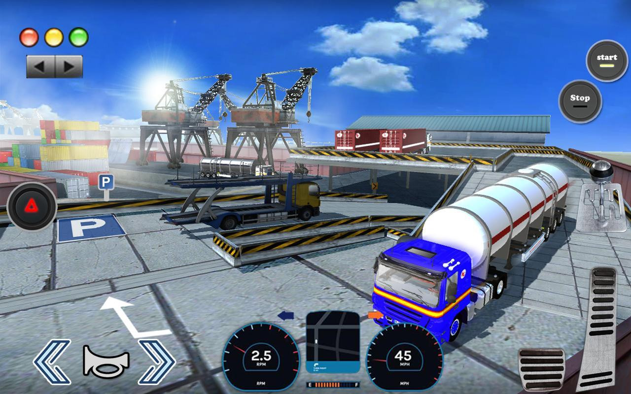 3D Truck Parking Simulator 2019: Real Truck Games 2.2 Screenshot 14