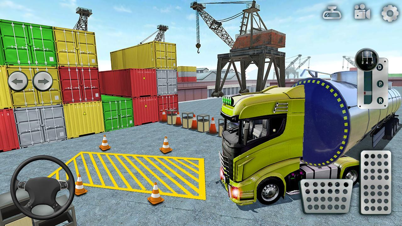 3D Truck Parking Simulator 2019: Real Truck Games 2.2 Screenshot 2