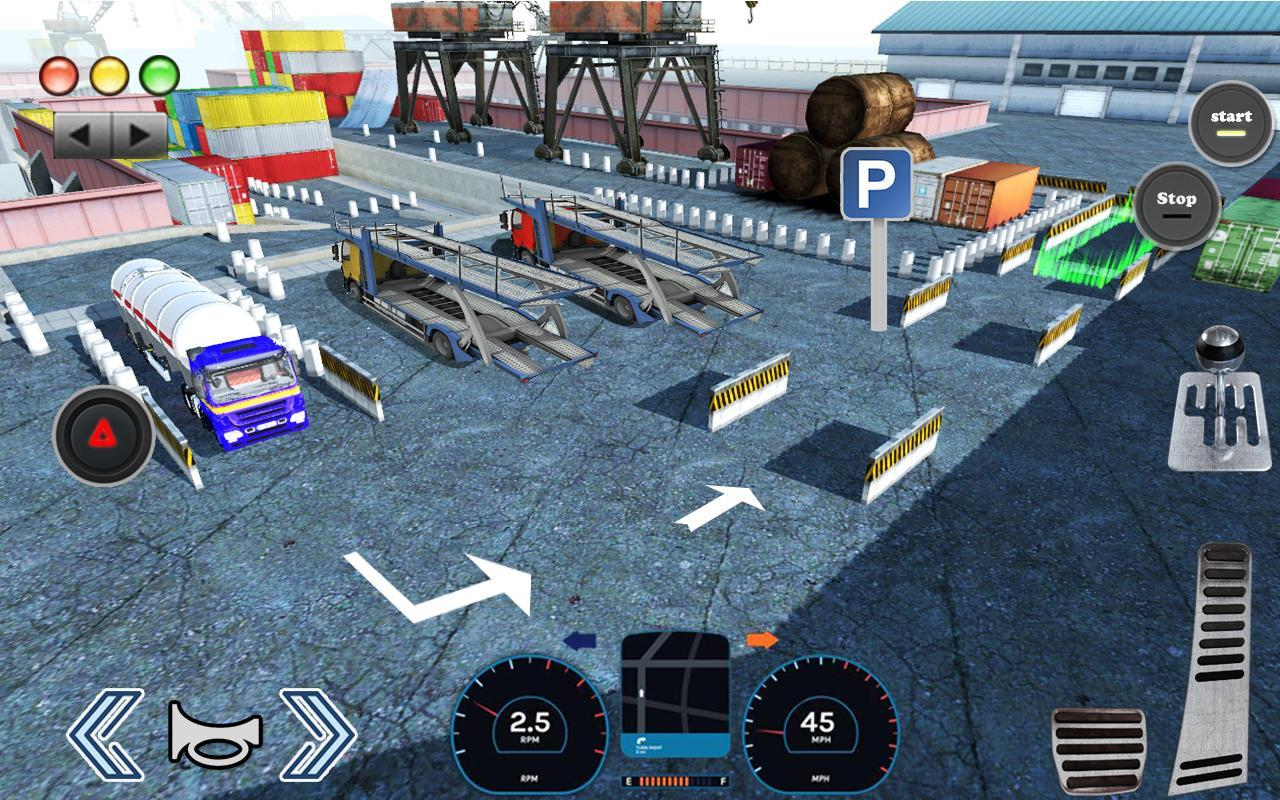 3D Truck Parking Simulator 2019: Real Truck Games 2.2 Screenshot 22